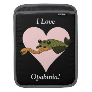 I Love Opabinia! Sleeve For iPads