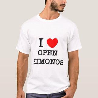 I Love Open Kimonos T-Shirt