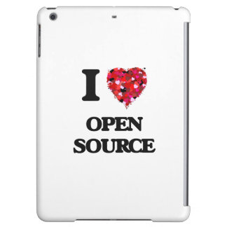 I Love Open Source Case For iPad Air