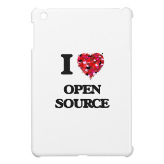 I Love Open Source iPad Mini Covers