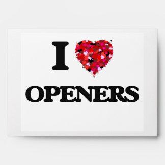 I Love Openers Envelopes
