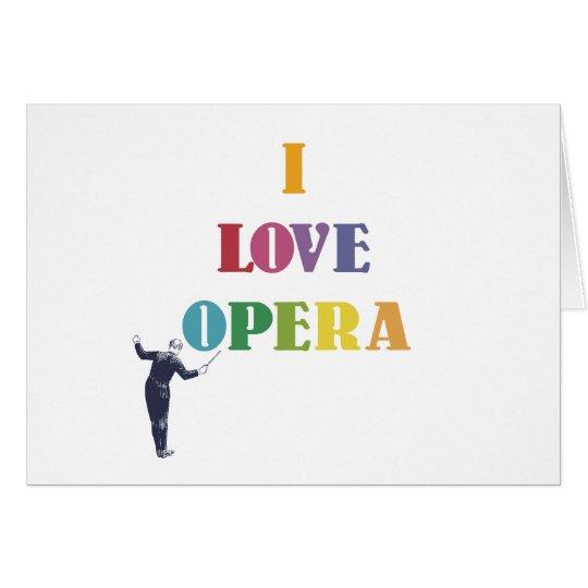 I Love Opera Card