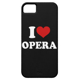 I Love Opera iPhone 5 Cases