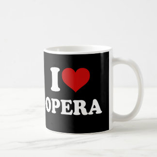 I Love Opera Coffee Mug