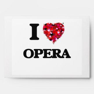 I Love Opera Envelopes
