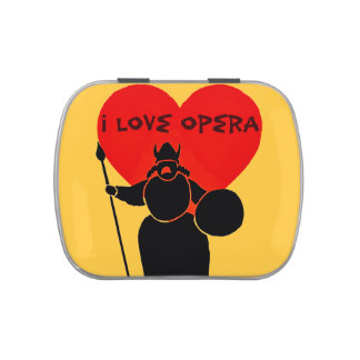 I Love Opera!_ Jelly Belly Candy Tin