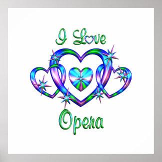 I Love Opera Print