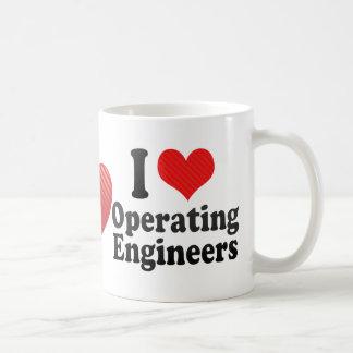 I Love Operating Engineers Coffee Mug
