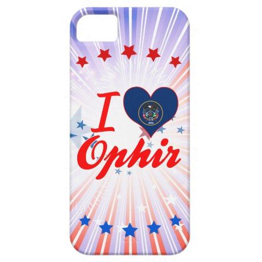 I Love Ophir, Utah iPhone 5 Case
