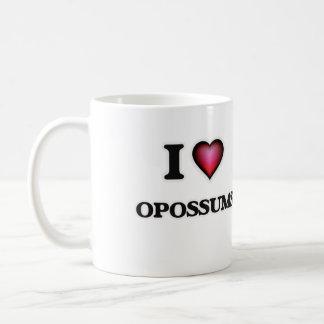 I Love Opossums Coffee Mug