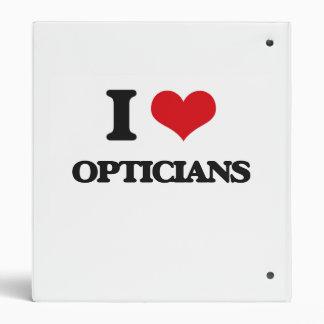 I love Opticians Binders