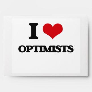 I Love Optimists Envelope