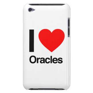 i love oracles iPod touch cases