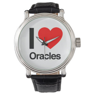 i love oracles wrist watches