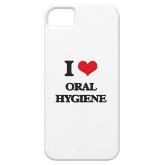 I Love Oral Hygiene iPhone 5 Cover