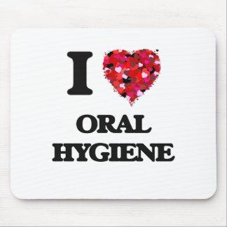 I Love Oral Hygiene Mouse Pad