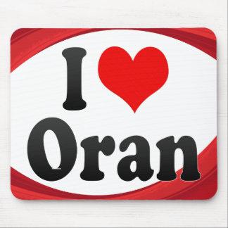 I Love Oran, Algeria Mouse Pad