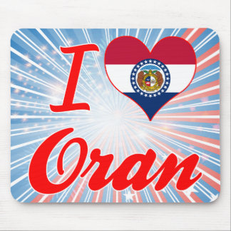 I Love Oran, Missouri Mouse Pad