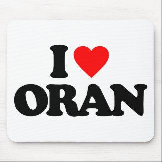 I LOVE ORAN MOUSE PAD