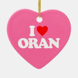 I LOVE ORAN ORNAMENT