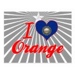 I Love Orange, New Hampshire Postcard