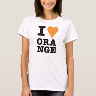 i love ORANGE T-Shirt