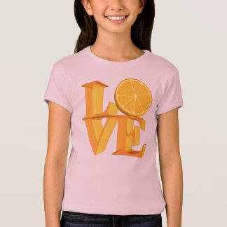 I LOVE ORANGE(TANGERINE/MANDARIN) T-Shirt