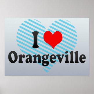 I Love Orangeville, Canada Poster