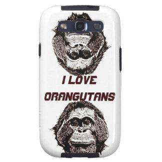 I Love Orangutans Official Logo Galaxy SIII Covers