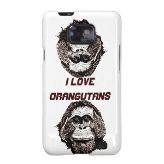 I Love Orangutans Official Logo Samsung Galaxy S2 Covers