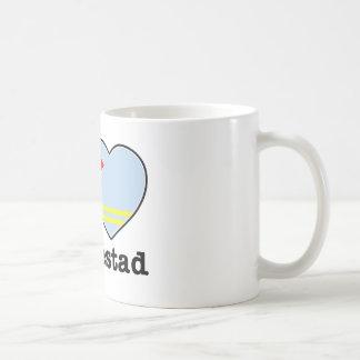I love Oranjestad Classic White Coffee Mug