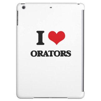I Love Orators iPad Air Covers