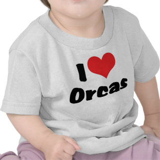 I Love Orcas Tees