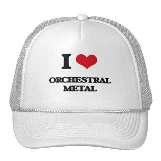 I Love ORCHESTRAL METAL Trucker Hat