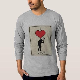 I Love Orcs T-Shirt