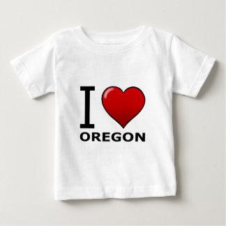 I LOVE OREGON BABY T-Shirt