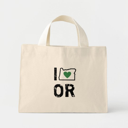 I Love Oregon Bag