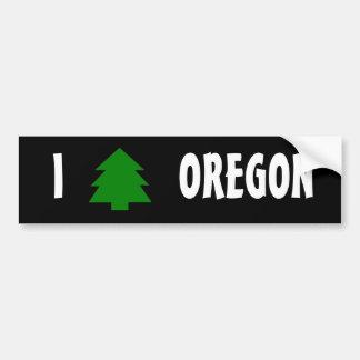 I love Oregon Bumper Stickers