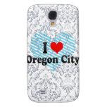 I Love Oregon City, United States Galaxy S4 Cover