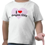 I Love Oregon City, United States Tee Shirt