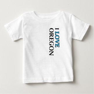 I Love Oregon Design Baby T-Shirt