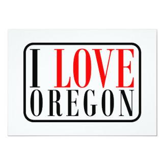 I Love Oregon Design Card