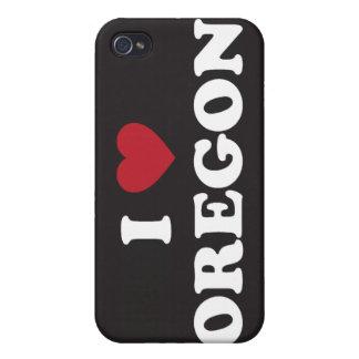 I Love Oregon iPhone 4 Cases