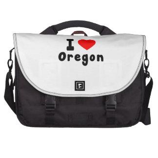 I Love Oregon Commuter Bags