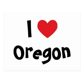 I Love Oregon Postcards