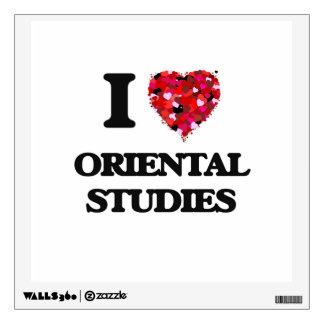 I Love Oriental Studies Wall Sticker