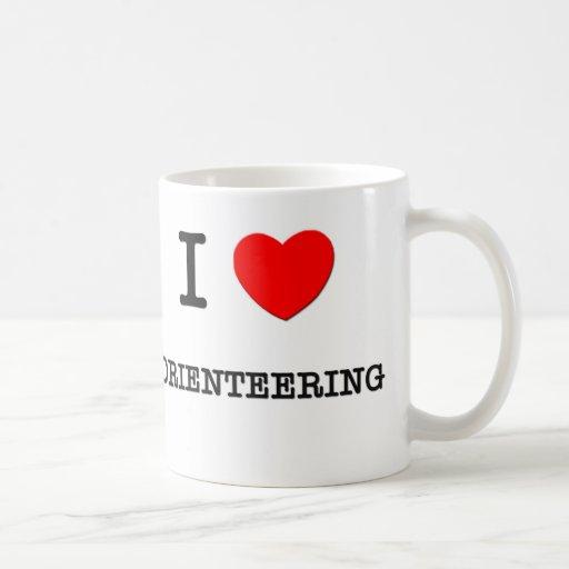 I Love Orienteering Mugs