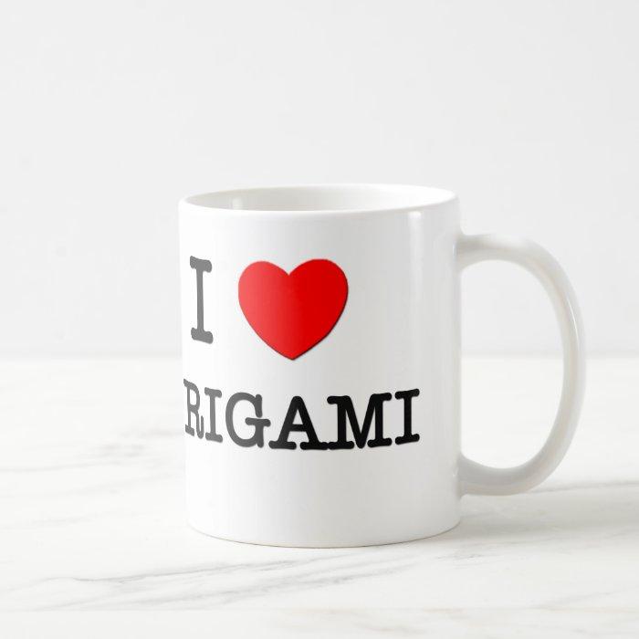 i love origami coffee mug zazzle