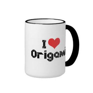I Love Origami Mugs