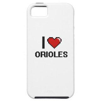 I love Orioles Digital Design iPhone 5 Cases